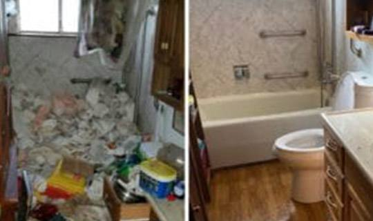 Hoarder Cleaning in Richmond, CA Before and After Hoard Cleanup