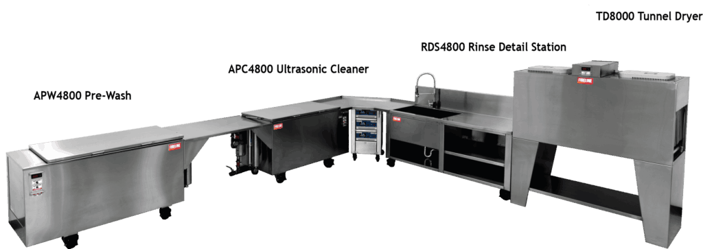 High-tech ultrasonic cleaner for contents cleaning in San Francisco, CA