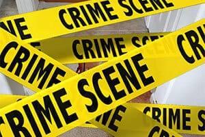 Crime scene tap over Unattended Death Clean Up in Roseville, CA